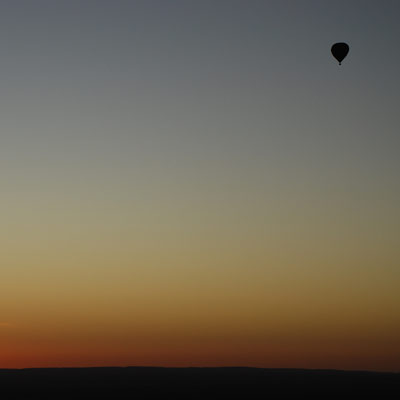 Hot Air Balloon in Alice Springs