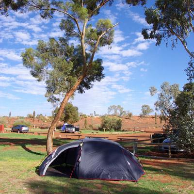 Camping At Ayers Rock Uluru Ayers Rock Australia