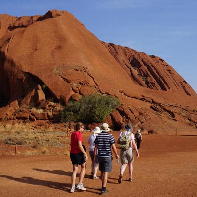 Walks around Uluru